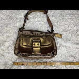 Coach Handbag Purse Special Edition Fall 2004 Gold